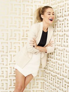 Lauren Conrad's Darling Magazine Spread...her outfit