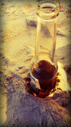 Coronas on the beach <3