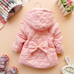 12m3y baby clothes baby girl clothes winter coat by babygirldress, $24.99