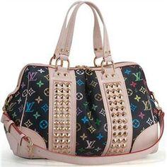 Louis Vuitton 2012 Handbags Monogram Multicolore Canvas Courtney MM LV M45642