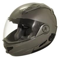 Check out Hawk Bluetooth Transition 2 in 1 Gun Metal Modular Helmet on LeatherUp.com!
