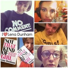 I'm the Mother of Two Girls and I Love Lena Dunham #LenaDunham #Girls #I♥LenaDunham