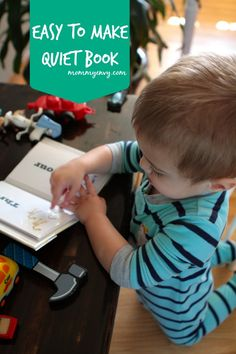 Easy to Make Quiet Book