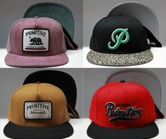 Primitive snapbacks (Holiday 2012)