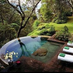 No dream home would be complete without this gorgeous hot tub!