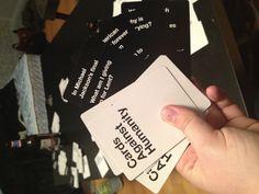 Cards against humanity @Megan Kuske