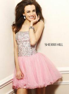 Sherri Hill Fall 2012-Style 1492 - very cute. #SHERRIHILLSTYLE