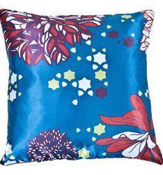Chrysanthemum Print Cushion