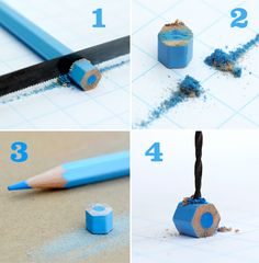 Colored pencil bead