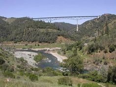 Foresthill Bridge near Auburn, CA, 731 feet above the river bed!