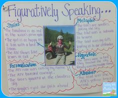 Teaching Figurative Language with pictures!