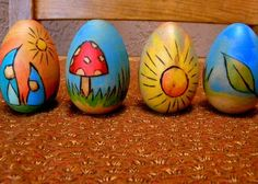 Story eggs - could make all kinds of spring/Easter stories like this!