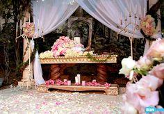 Pandora Vanderpump Todd's wedding - more ceremony detailing.