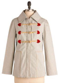 wear the heart is jacket.  $144
