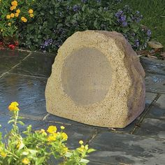ION Bluetooth Outdoor Rock Speaker It's the perfect way to enjoy your music in your garden, on your patio, or by the pool.