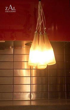 Six Pack. Beer bottles. Light. Lamp $150