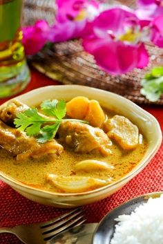 South Indian Chicken Curry - Gluten Free