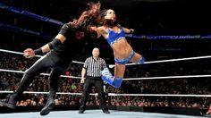 Bella Twins vs. AJ & Tamina: photos | WWE.com