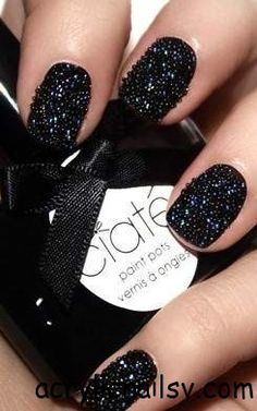 Black Caviar Nails