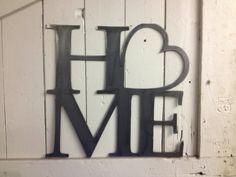 Home Metal Wall Art