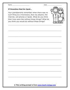 Grandparent's Day Writing Activity