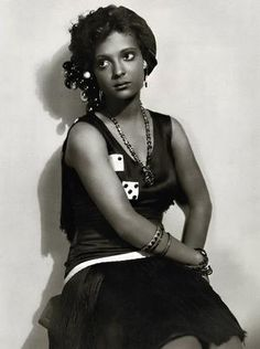 Nina Mae Mckinney ....1920s actress,who paved the way for black actresses today.