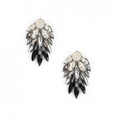 Jet Ombre Earrings