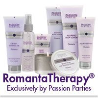 RomantaTherapy: Get yours now by hosting or attending Passion Parties by Shannon, Call now 814-378-4787! My favorites in this collection would include the Toning Body Butter, Soft & Silky Shaving Creme, and Liquid Body Silk just to name a few and starting at a low cost of just $12.00!