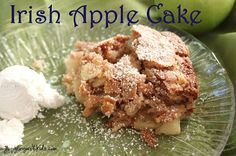Around the World in 12 Dishes is now starting it's second season of traveling the world through cooking with children.  Come by and check out our Irish Apple Cake and many other recipes/crafts for Ireland linked by other fabulous bloggers!  (Ireland is the country we traveled to in March)  FREE printables too!