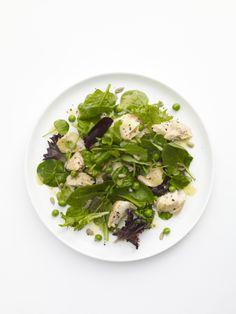 Citrusy Salmon Salad #myplate #fish #salad