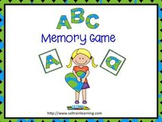 Freebie:This is a free download Memory Game where your kiddos will match 26 uppercase and lowercase letters. We hope that they will learn their letters as they play this game. Please check out our other games. We have one for March Vocabulary that you may be interested in: #freebie#alphabet#game#TPT#teaching ideas#education