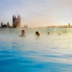 Thermae Bath Spa, Bath, England- World's Coolest Hot Springs