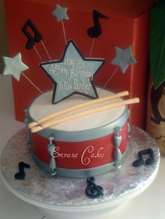 MY Favorite DRUM CAKE for PA!!! Drum cake (SP113)
