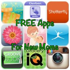 Free Apps for New Moms via Nanny to Mommy