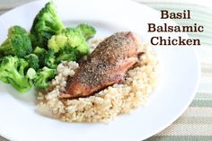 Basil Balsamic Chicken  ~ part of our 21 Gluten Free Meals from Costco Plan | 5DollarDinners.com