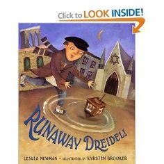 Book, Runaway Dreidel by Leslea Newman