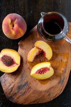maple bourbon peach butter