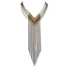 Diag Striped Necklace, $222, now featured on Fab.
