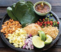 Thai Leaf-Wrapped Salad Bites (Miang Kham)