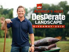 Does your yard need a makeover? We're giving away $50,000 to one lucky winner! Enter now for your chance to win >> http://www.diynetwork.com/americas-most-desperate-landscape-giveaway/package/index.html?soc=pinterest