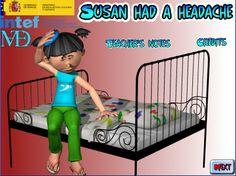 """Susan had a headache"" (Inglés 6º Primaria)"