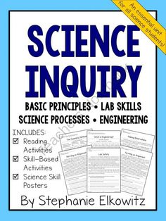 processes of scienti c inquiry Inquiry in the science classroom is an e-learning course for teachers of students in 3rd to 8th grades (ages 9 to 13) that will explain and demonstrate the inquiry process in depth with interactive activities and locally relevant classroom examples.