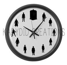 It's half past Baker....(not literally, it's Tennant o'clock in the picture)
