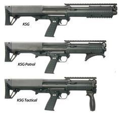 """Kel-Tec are producing a short barreled shotgun (SHS) version of the Kel-Tec KSG . The KSG patrol has a 16.1"""" barrel (24"""" overall length) and the KSG Tactical has a 13.7"""" barrel (21.4"""" overall length). The shorter length decreases weight while improving maneuverability."""