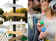 Wedding activity ideas: mini golf 1
