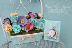 Krafting Kreations: Designer Garden Window Box and Card