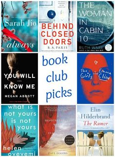 Book club picks we r