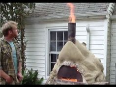 This is a video on a cob oven that smokes less and doesn't burn the front entrance. Also, at the top of the link page is a great video on outhouses with a very efficient compost house design at the end.