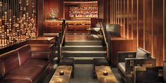 The Royalton's lobby lounge, the dark-wood and leather Bar 44, draws a swank after-work crowd. #Jetsetter
