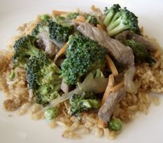 Costco Plan #1 Broccoli and Beef Stirfry